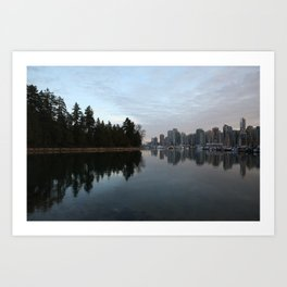 Reflections of Vancouver Art Print