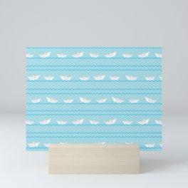 Paper Boats Mini Art Print