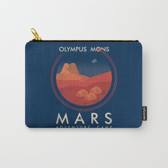 Mars Camp Carry-All Pouch