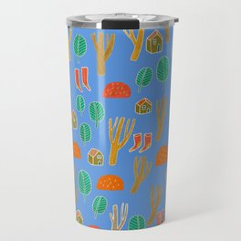 Pattern Project #3 / Forest Life Travel Mug