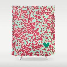 Animal Print Pink Shower Curtain