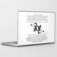 poe Laptop & iPad Skins featuring POE by Vineeth G Nair