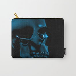 Glass skull Carry-All Pouch