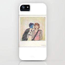 Max and Chloe polaroid iPhone Case