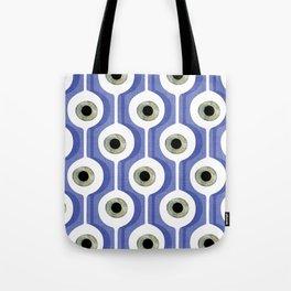 Eye Pod Purple Tote Bag