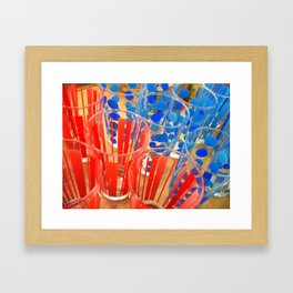 Cheap Glasses Framed Art Print