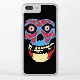 WOAH-bey Clear iPhone Case