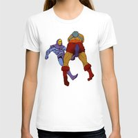 skeletor T-shirts featuring skeletor kick by Toni Caputo