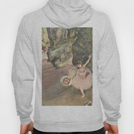Dancer with a Bouquet of Flowers (Star of the Ballet) Hoody