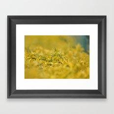 Yellow, Yellow, Super Fellow Framed Art Print