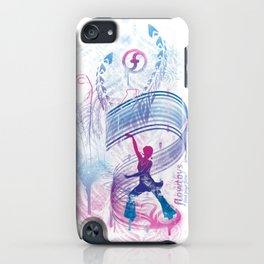 urban flow :: wand dance iPhone Case