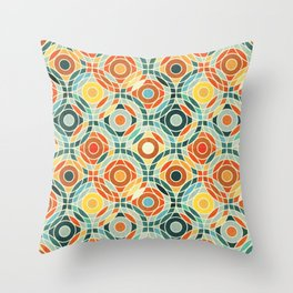Bauhaus Geometric Throw Pillow