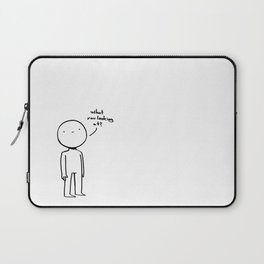 What you looking at? Laptop Sleeve