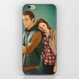 Doctor Who - Rory and Amy iPhone Skin