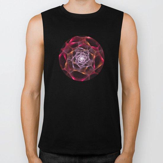 Fractal Rose Biker Tank