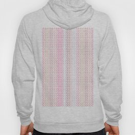 Knitted pattern in pastel colours.2 Hoody