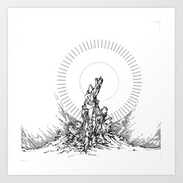 Are you serious Art Print