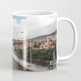 Blue skies over Medellín, Colombia Coffee Mug