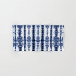 Tiki Shibori Blue Hand & Bath Towel