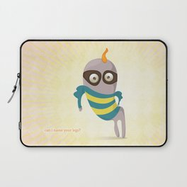 Can I name your legs? Laptop Sleeve