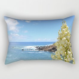 Yucca Flowers In The Azores Rectangular Pillow