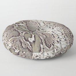 SnakeSkin Print Floor Pillow
