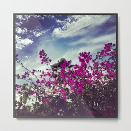 Mexican Flowers Metal Print