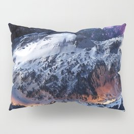 Mountain CALM IN space view Pillow Sham