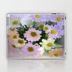 Painterly Spring Pastel Daisies Laptop & iPad Skin