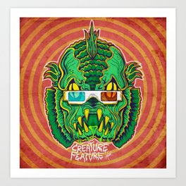 Creature Feature Art Print