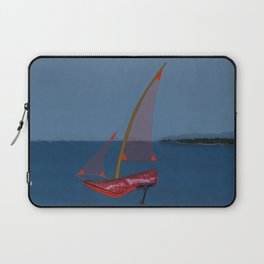 Racing in May with May - shoes stories Laptop Sleeve