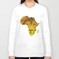 musa Long Sleeve T-shirts featuring King Of The Jungle! by DeMoose_Art