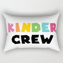 KINDER CREW, Kindergarten teacher Rectangular Pillow