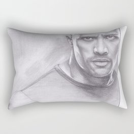Dwayne Johnson - The Rock Rectangular Pillow
