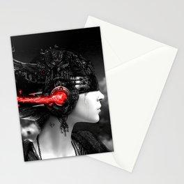 GIRL-MUSIC-ART Stationery Cards