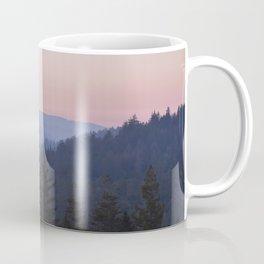 Sunset in the Santa Cruz Mountains Coffee Mug
