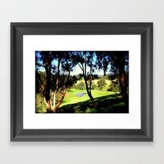 Life in the Alpine Ranges - Australia Framed Art Print