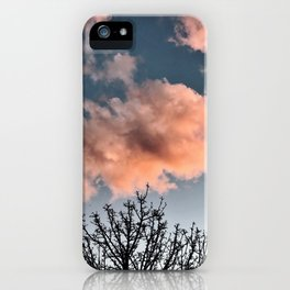 Cotton Candy iPhone Case