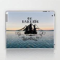 Lets Be Adventurers Laptop & iPad Skin