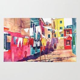 Laundry in Venice Rug