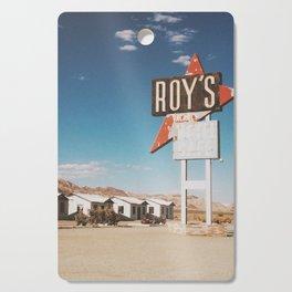 Roy's Motel Cutting Board