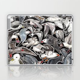 Sea gulls for bird lovers Laptop & iPad Skin
