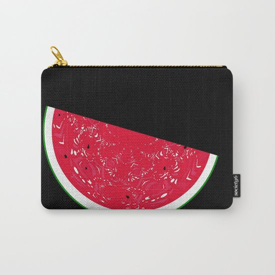 "An Estimated 1600 people in the world are named ""Watermelon"" Carry-All Pouch"