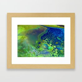 Algea Framed Art Print