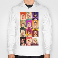 Hoodies featuring Katya Zamolodchikova T-Shirt  by Donny Meloche