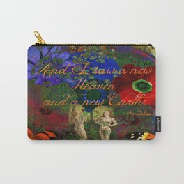 """Adam and Eve's Scriptured """"Earth"""" Carry-All Pouch"""
