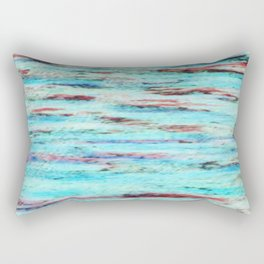 Color gradient and texture 33 Rectangular Pillow