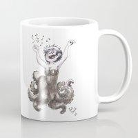 ursula Mugs featuring Ursula by Laeti Vanille