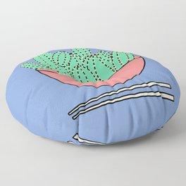 Poke Bowl Floor Pillow