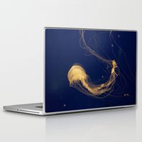 jelly fish Laptop & iPad Skins featuring Jelly fish by Snail,Snail